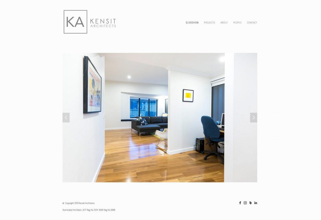 kensit architects canberra