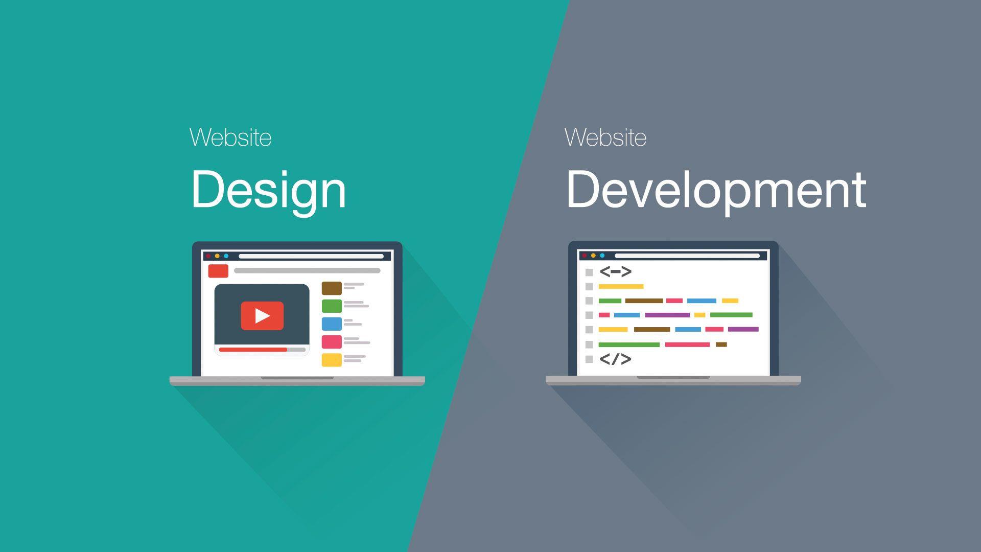 web design development hero banner